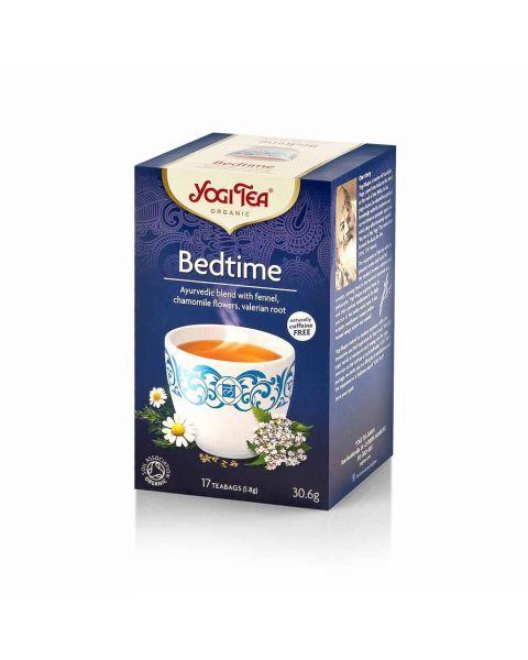 YOGI TEA Bedtime ekologiška ajurvedinė arbata, 30,6 g
