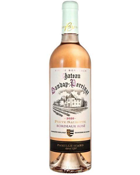 Rožinis vynas CHATEAU GANDOY-PERRINAT Bordeaux Rose AOP 2020 12.5%, 750 ml