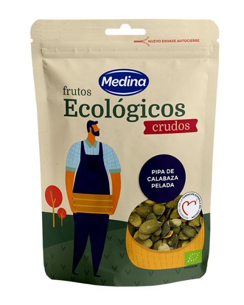 Ekologiški moliūgų sėklų branduoliai MEDINA, 100g