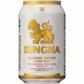 Tailandietiškas alus SINGHA Lager 5%, 330ml