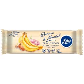 Ekologiškas bananų ir migdolų vaisinis batonėlis LUBS, 40 g
