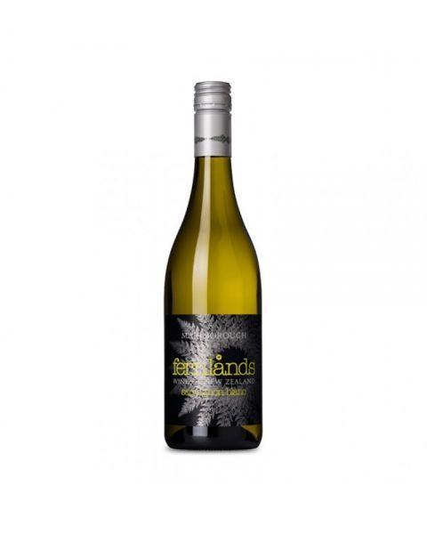 Baltasis sausas rūšinis vynas FERNLANDS SAUVIGNON BLANC pagamintas Marlborough regione, Naujoji Zelandija