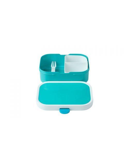 Vaikiška maisto dėžutė su skyreliais MEPAL Campus turkio mėlyna, 1 vnt. 3