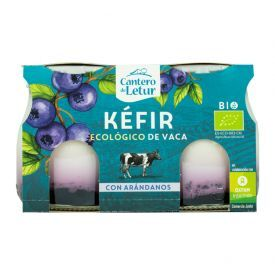 Ekologiškas fermentuotas jogurtas CANTERO DE LETUR su mėlynėmis, 2x125g