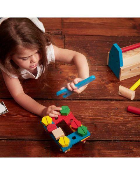 Medinis meistro įrankių dėžės rinkinys MELISSA & DOUG, 1 vnt. 5