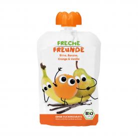 Ekologiška tyrelė FRECHE FREUNDE su kriaušėmis, bananais, apelsinais ir vanile, nuo 8 mėn., 100g