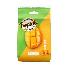 Džiovintų mangų juostelės TROPICKS, 118g