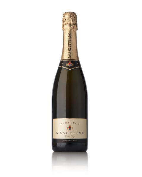Putojantis sausas vynas Masottina Prosecco di Treviso Extra Dry DOC 11%, 750ml