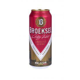 Šviesusis alus BROEKSEL Belgium Lager 5%, 500 ml