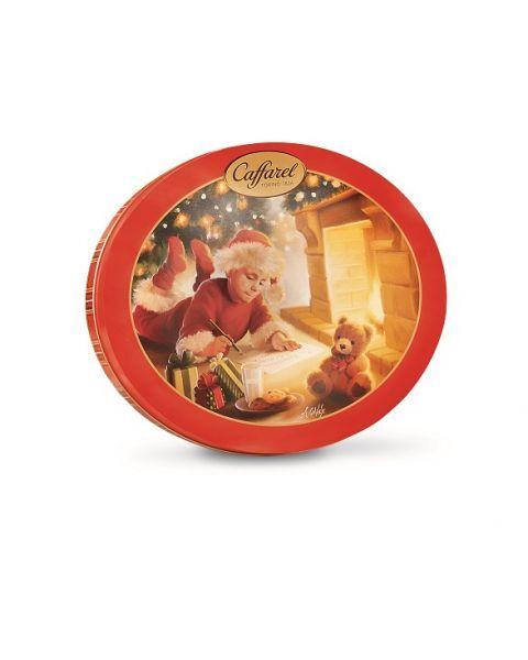 """Šokoladiniai saldainiai CAFFAREL """"Christmas Tin"""", 240 g"""