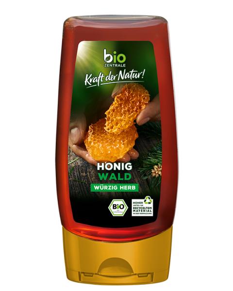 Ekologiškas miško medus BIOZENTRALE, 350 g