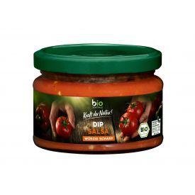 Ekologiškas aštrus salsa padažas BIOZENTRALE, 200ml