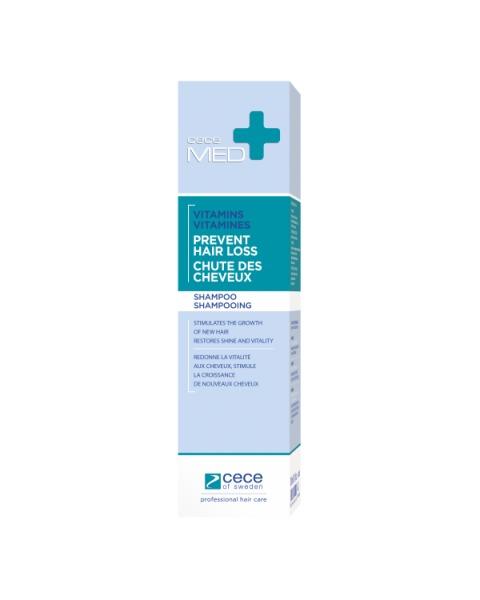 Šampūnas nuo plaukų slinkimo CECE Med, 300 ml