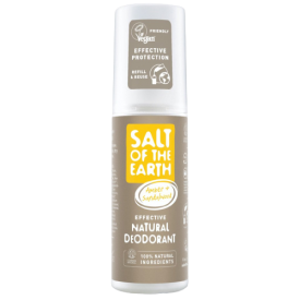 Natūralus purškiamas dezodorantas SALT OF THE EARTH su gintaru ir santalu, 100 ml