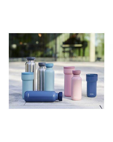 Rožinės spalvos termosas gėrimams (350 ml)  MEPAL Bottle Ellipse , 1 vnt. 4