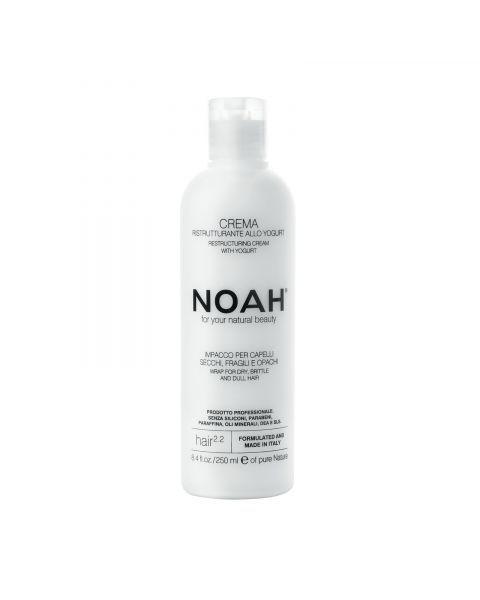 Atstatomoji kaukė sausiems ir pažeistiems plaukams NOAH su jogurtu, 250 ml