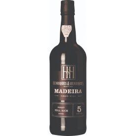 Raudonas vynas HENRIQUES&HENRIQUES 5yr MADEIRA 19% 750ml, saldus