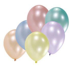 Margi, perlinio atspalvio balionai RIETHMULLER, 8 vnt.