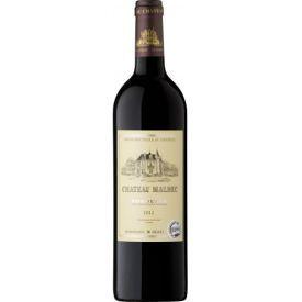 Raudonas sausas vynas Chateau Malbec Bordeaux A.C. 12,5%, 750ml