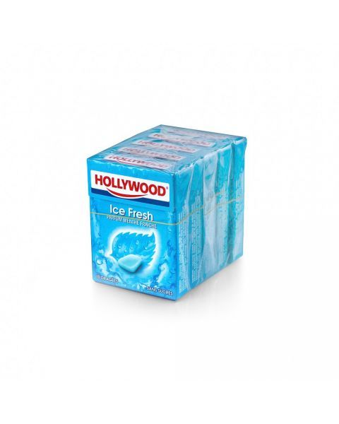 Kramtomoji guma HOLLYWOOD Ice fresh, 14 g