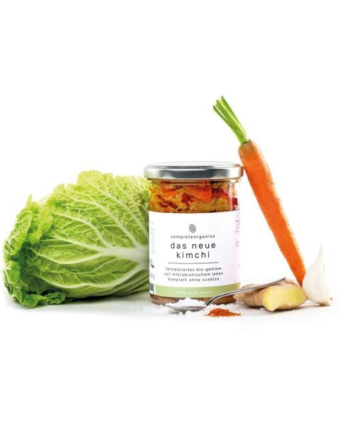"""Klasikiniai """"Kimchi"""" kopūstai COMPLETEORGANICS, ekologiški, 340g 3"""
