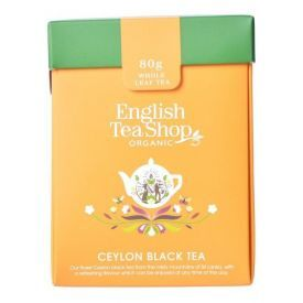 Ekologiška arbata ENGLISH TEA SHOP Ceylon black tea, 80g.