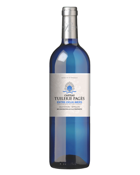 Baltas sausas vynas Chateau Tuilerie-Pages 12%, 750ml