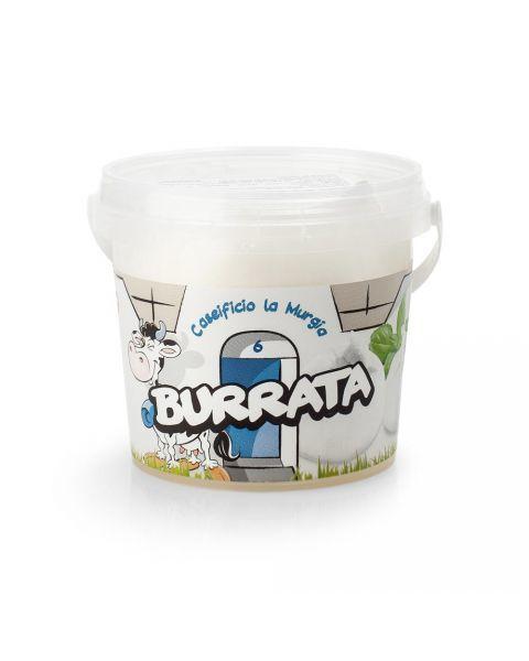 Šviežias BURRATA sūris LA MURGIA, 125g