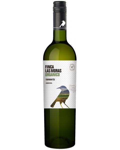 Baltas sausas vynas Las Moras Organico Torrontes 13%, 750ml