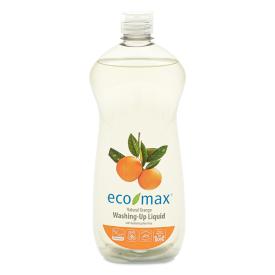 Ekologiškas apelsinų kvapo indų ploviklis ECO-MAX, 740 ml