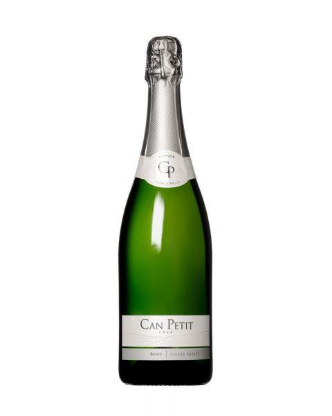 Putojantis sausas vynas Can Petit Cava Brut 11,5%, 750 ml