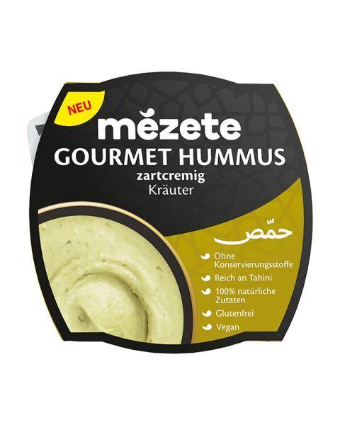Avinžirnių humusas su žolelėmis MEZETE, 215 g