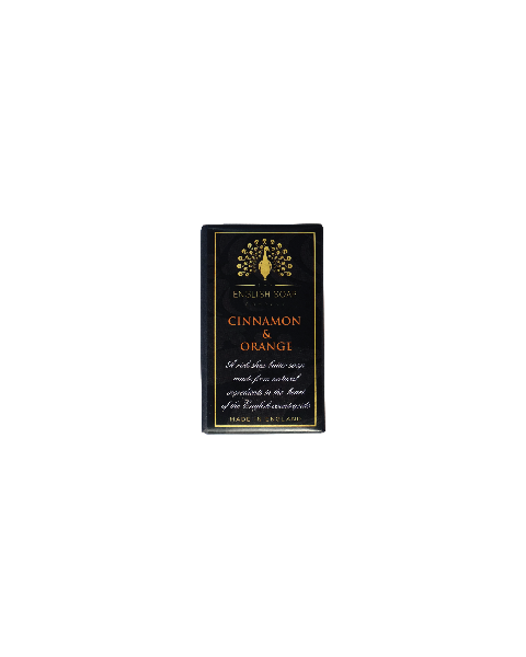 Muilas THE ENGLISH SOAP COMPANY Pure Indulgence Cinnamon&Orange, 200 g