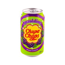 Gazuotas gėrimas CHUPA CHUPS vynuogių skonio, 345 ml