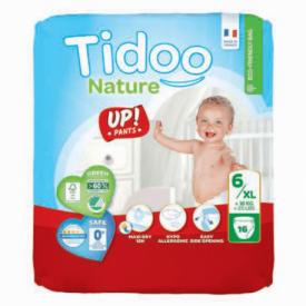 Sauskelnės-kelnaitės TIDOO Eco 6, 16 vnt.