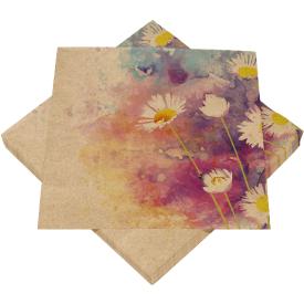 Serviravimo servetėlės HEKU ramunė, 3 sluoksnių, 33 x 33 cm, 20 vnt