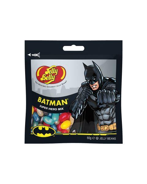 Saldainiai JELLY BELLY BATMAN įvairių skonių, 60g