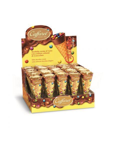 """Šokoladinis skanėstas CAFFAREL """"Multicolor Caffarellino"""", 25 g"""