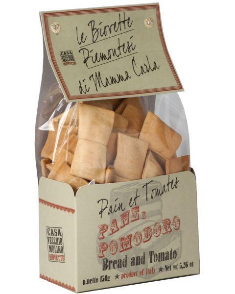 Duoniukai su pomidorais CASA VECCHIO BIOVETTE 150g
