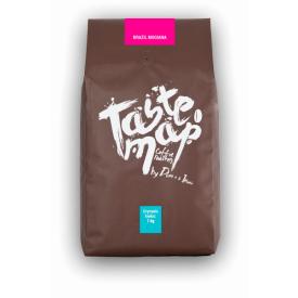 Kava pupelėmis Taste Map Arabica BRAZIL MOGIANA, 1kg