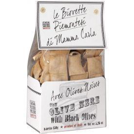 Duoniukai su alyvuogėmis CASA VECCHIO BIOVETTE 150g