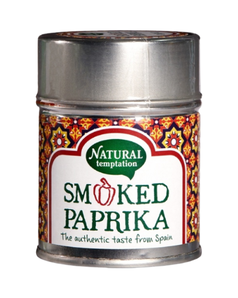 "Ekologiška rūkyta paprika NATURAL TEMPTATION ""Gerookte paprika"", 50 g"