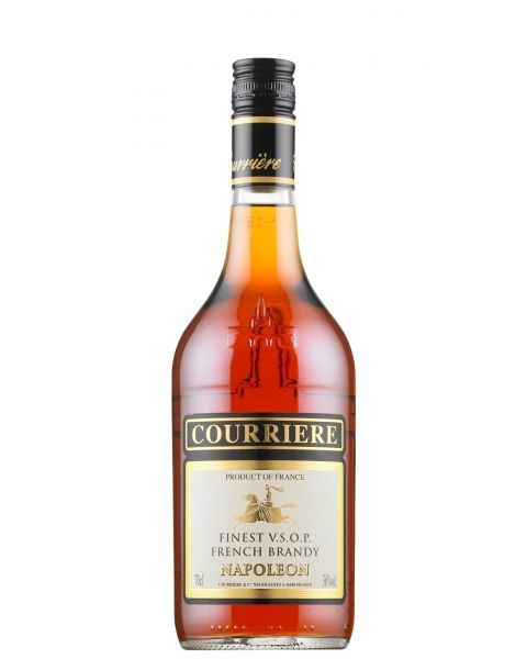 Brendis COURRIERE NAPOLEON VSOP Finest French Brandy 36%, 700ml