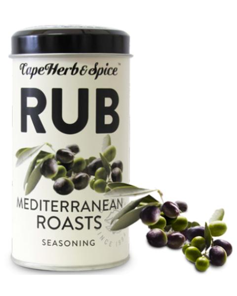 Prieskonių mišinys CAPE HERB & SPICE RUB Mediterranean roasts, 100g