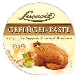 """Koncentruota paukštienos pasta LACROIX """"Geflügel"""" sriuboms, padažams ar sultiniams, 40 g"""