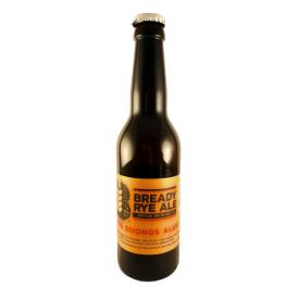 Ruginis duonos alus SAKIŠKIŲ Bready Rye Ale 5,2% 330 ml