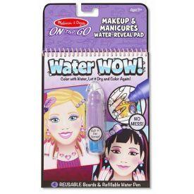 "Spalvinimo vandeniu rinkinys MELISSA & DOUG ""Makeup and Manicure"", 1 vnt."