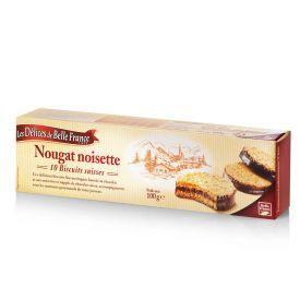 Sausainiai Nougat noisette LES DELICES DE BELLE, 100g