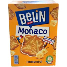 Krekeriai BELIN MONACO sūrio skonio, 100g