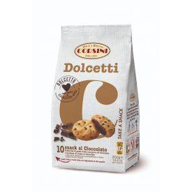 Sausainiai CORSINI su šokolado įdaru, 300 g